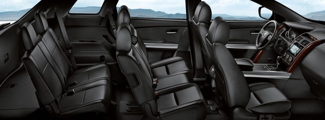 does the mazda cx 9 have a third row. Black Bedroom Furniture Sets. Home Design Ideas